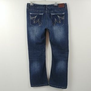 Maurices Womens Jeans Size 13/14 Short Measures 32